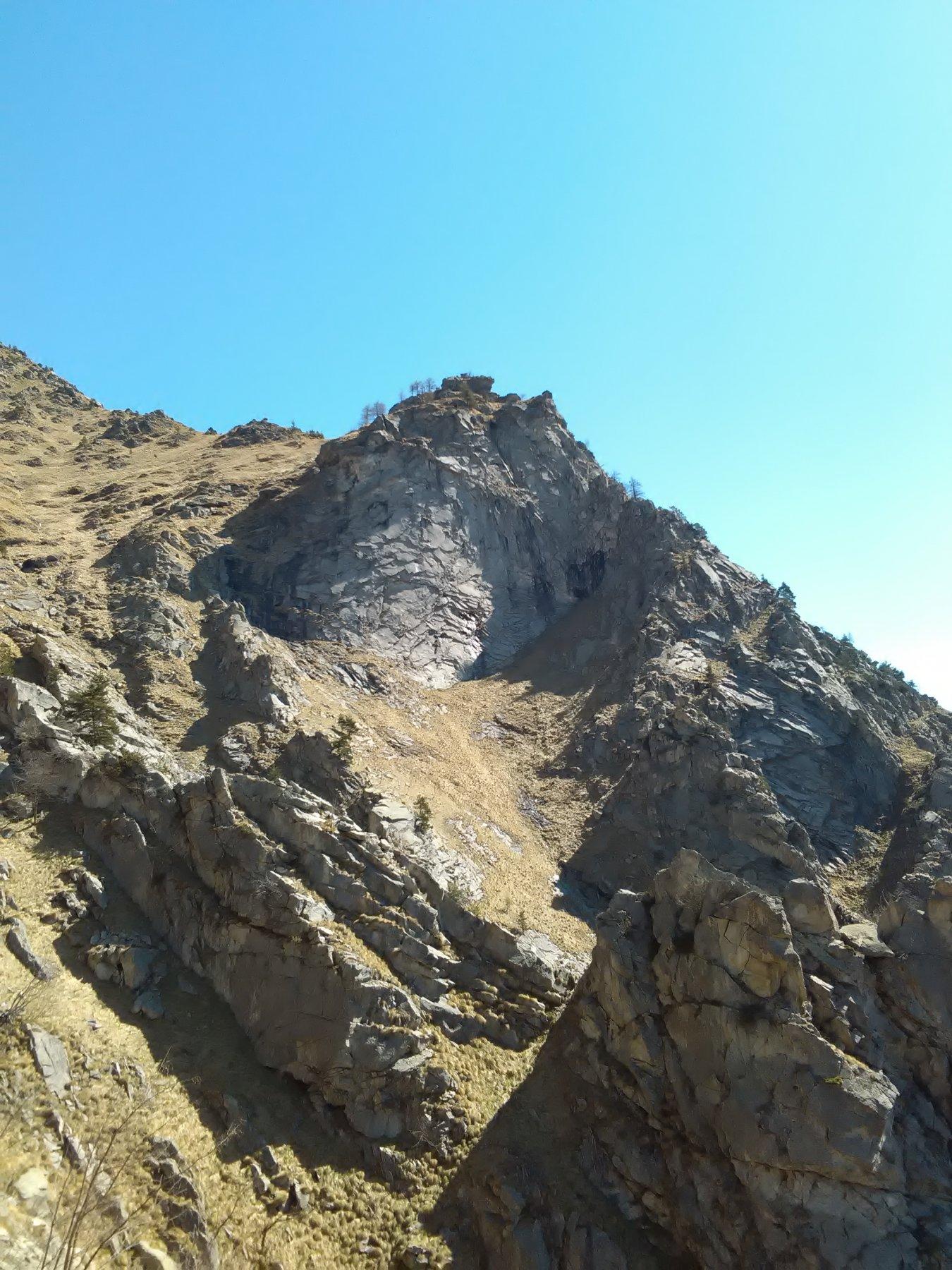 La rocca salendo