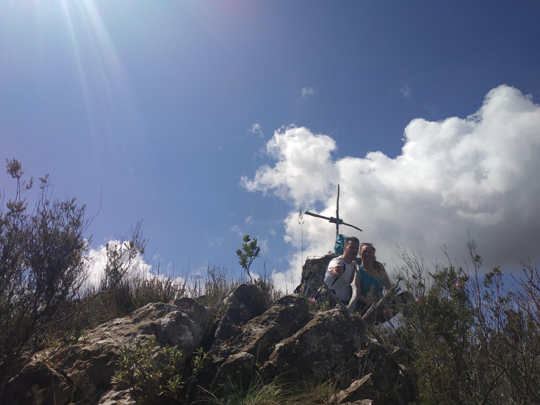 La puntina innominata nei perssi del Passo della Croce.