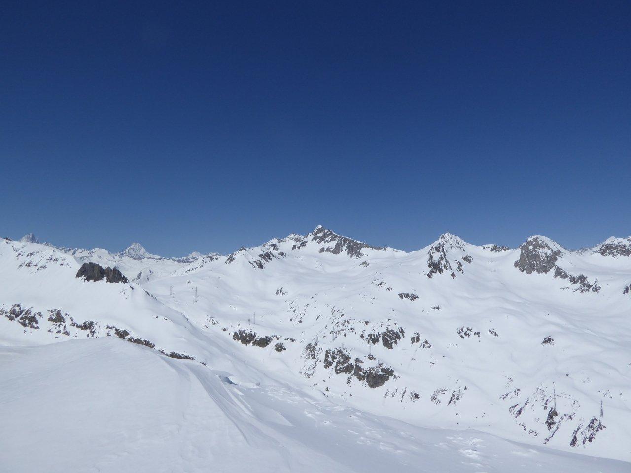 non male anche su questa cima secondaria (Helgerhon secondario) a nord dell'Helgerhorn principale...