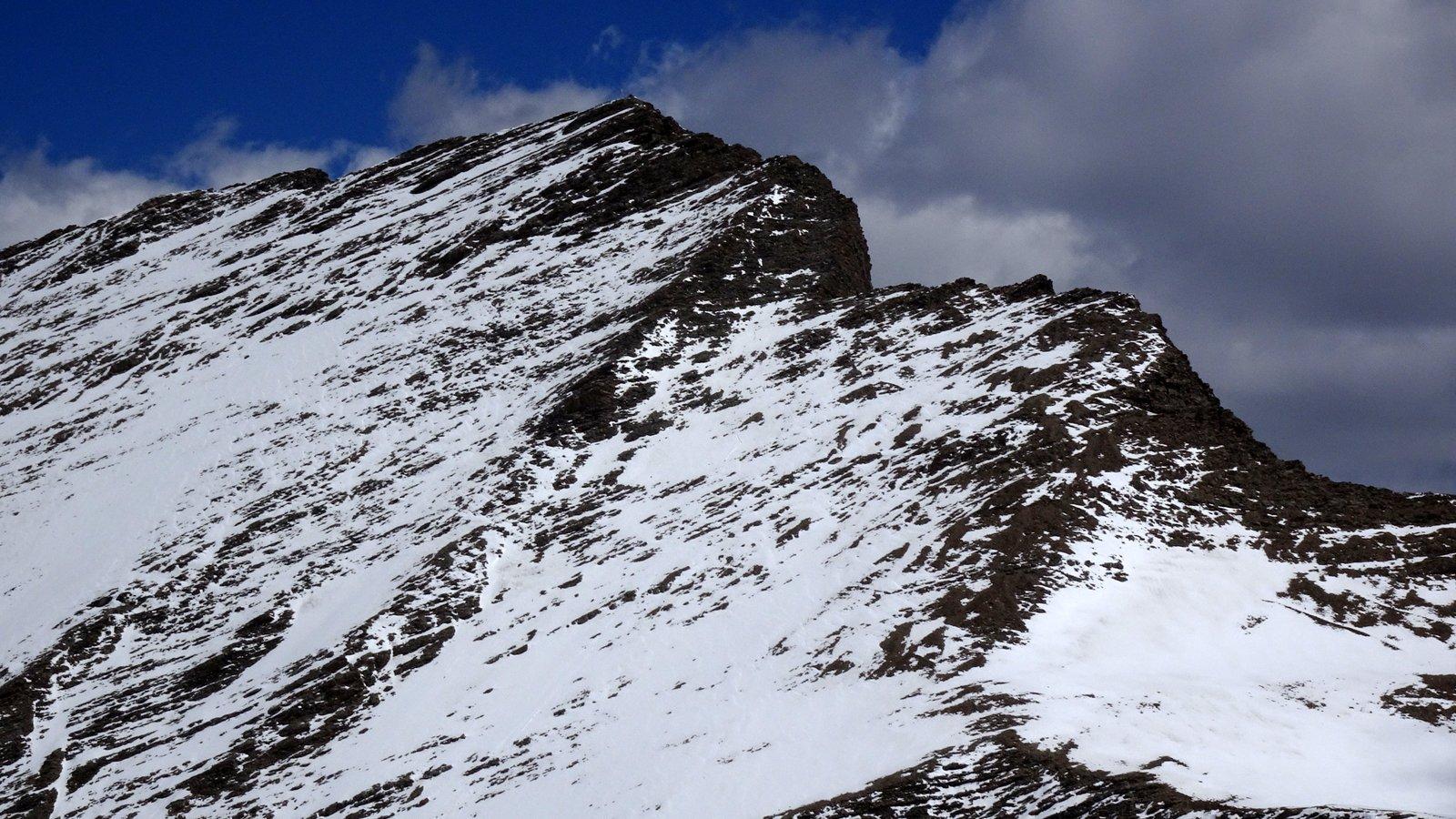 Gran Berard senza neve