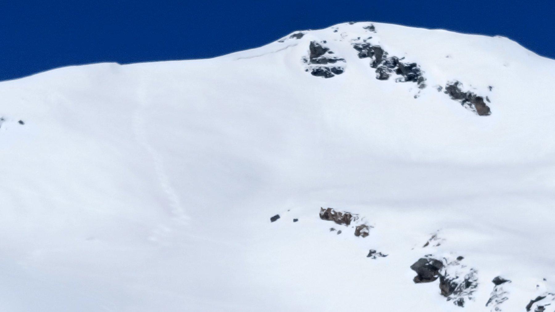 Il Guggernüll e il bel pendio sciato