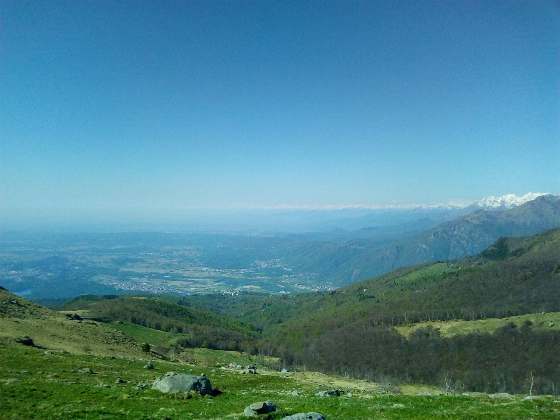 Panorama all'Alpe Ghiazzetti