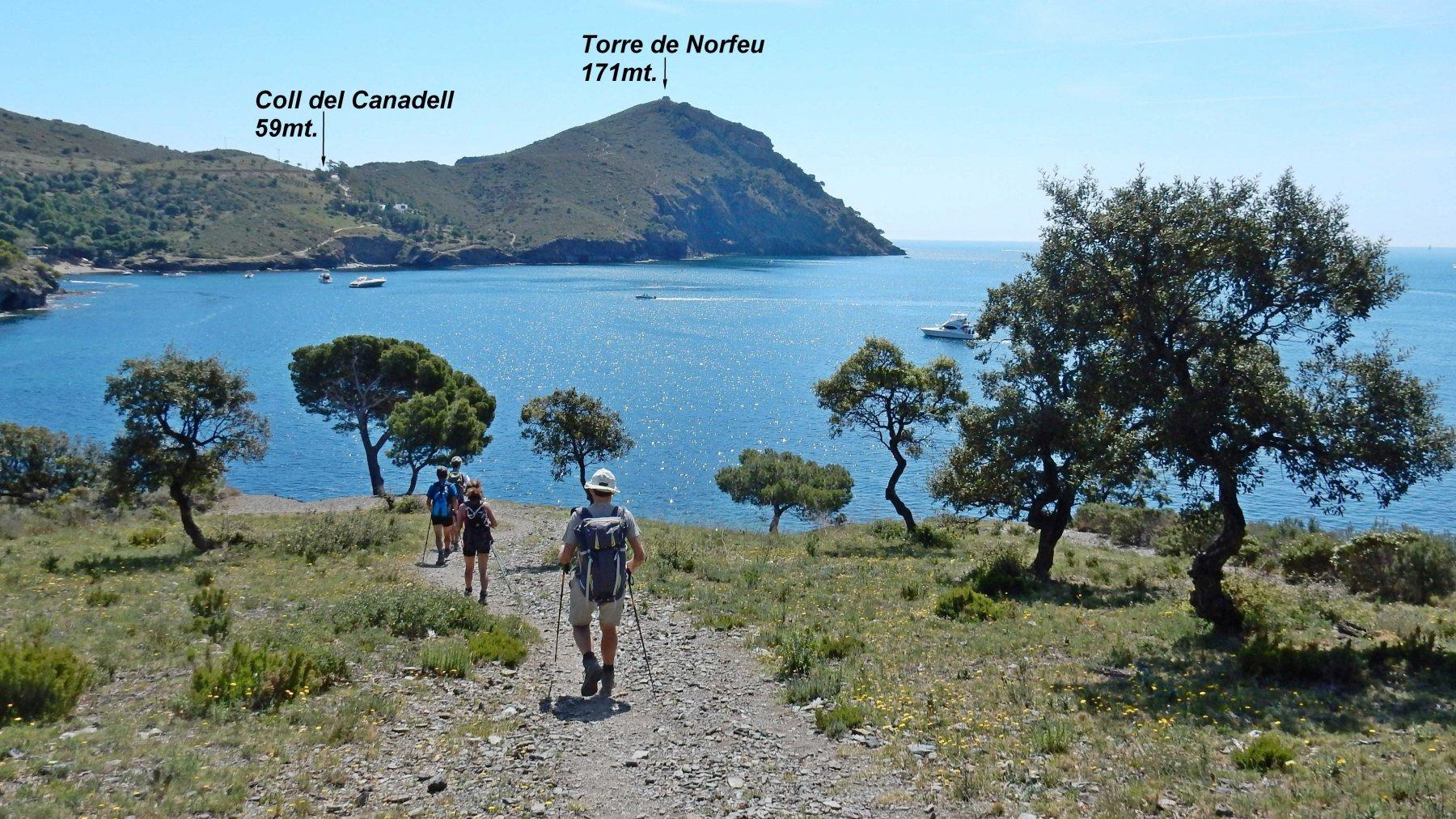 Verso Cap de Norfeu.