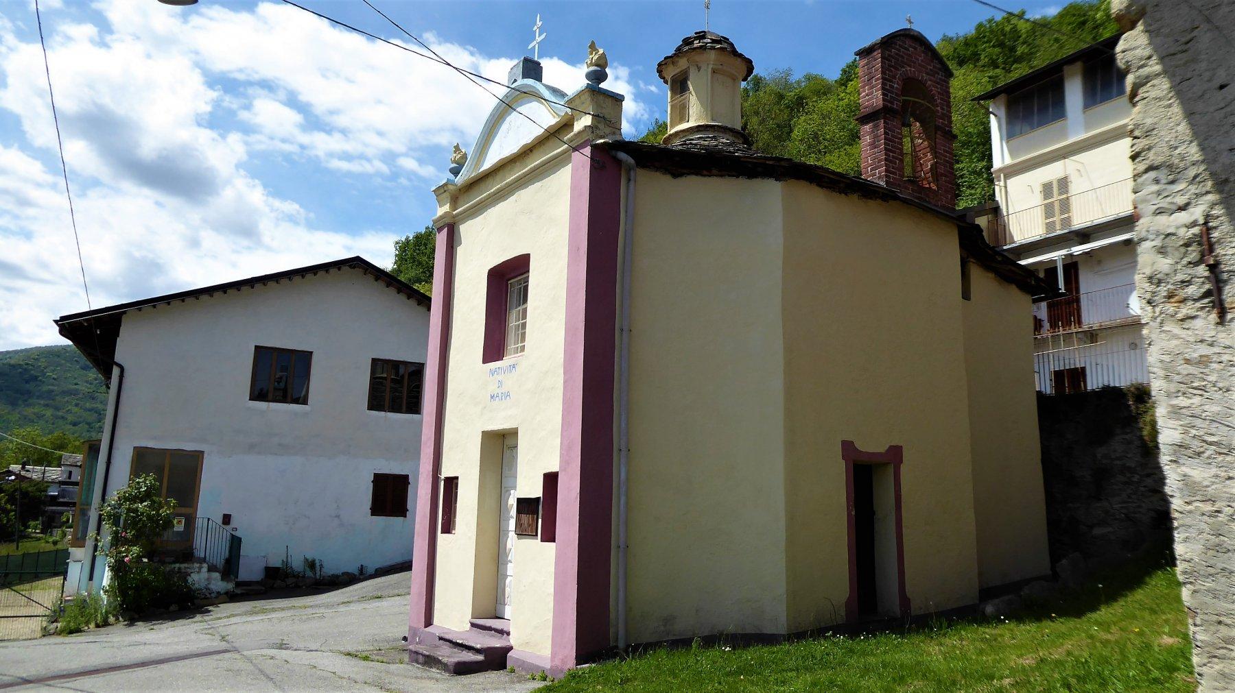 Belice (Cappella di) da Cuorgnè per la vecchia mulattiera di Chiesanuova 2019-05-05