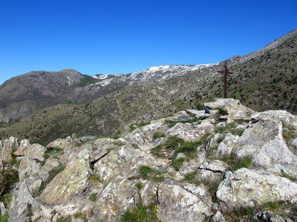Altra Croce sul Camulà e monte Sciguelo