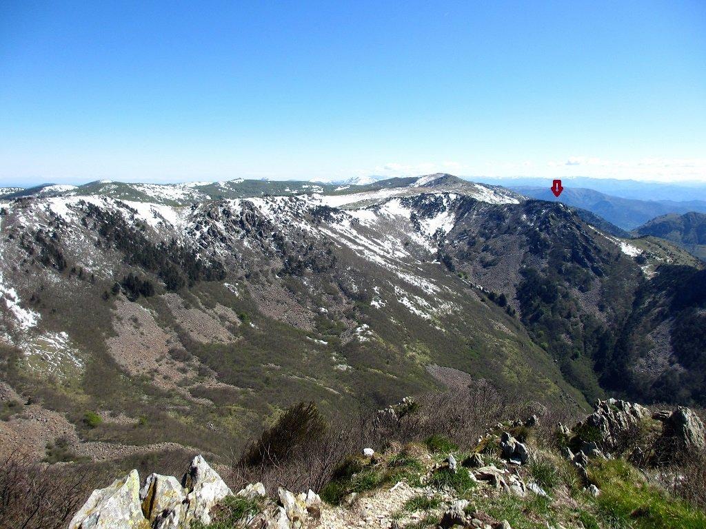Dal monte Rama il monte Argentea