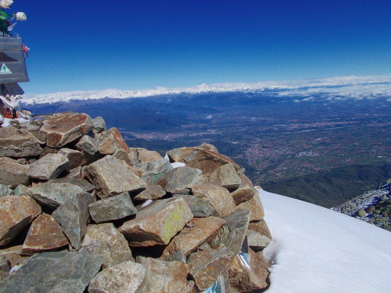 panorama :dalla pianura alle alpi