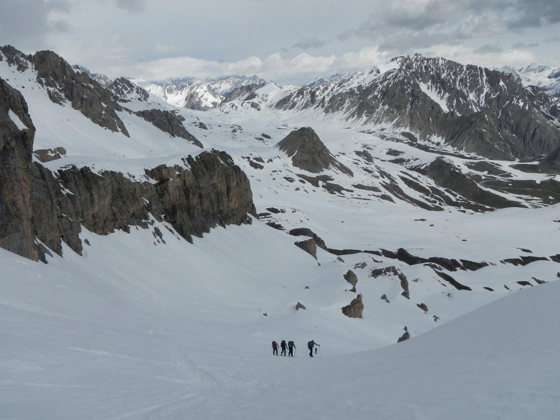 panorama verso il Colle della Gardetta
