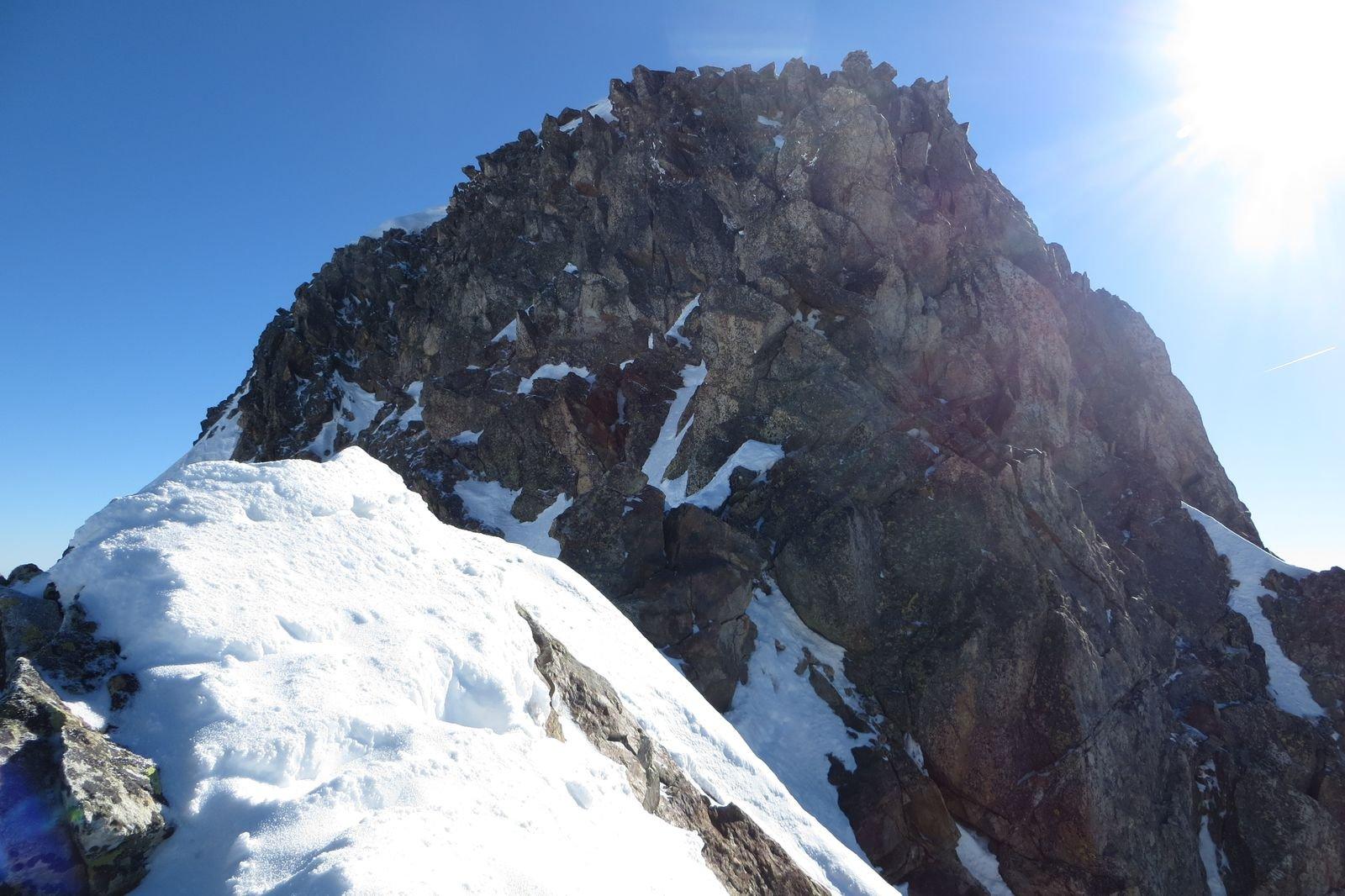 ultimi metri prima della cima NO