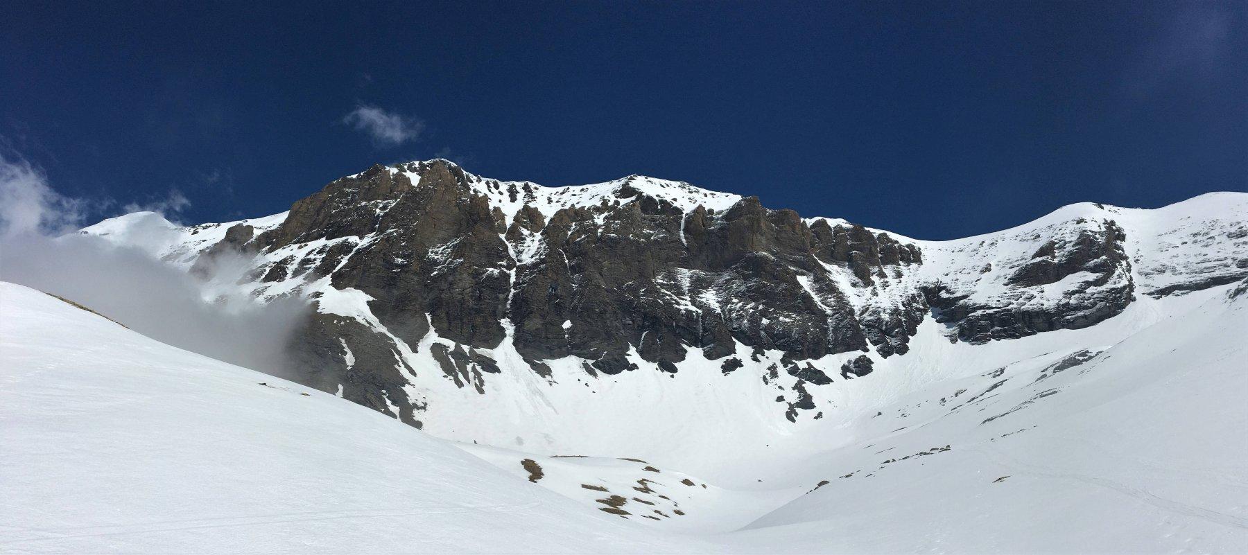 panorama verso monte