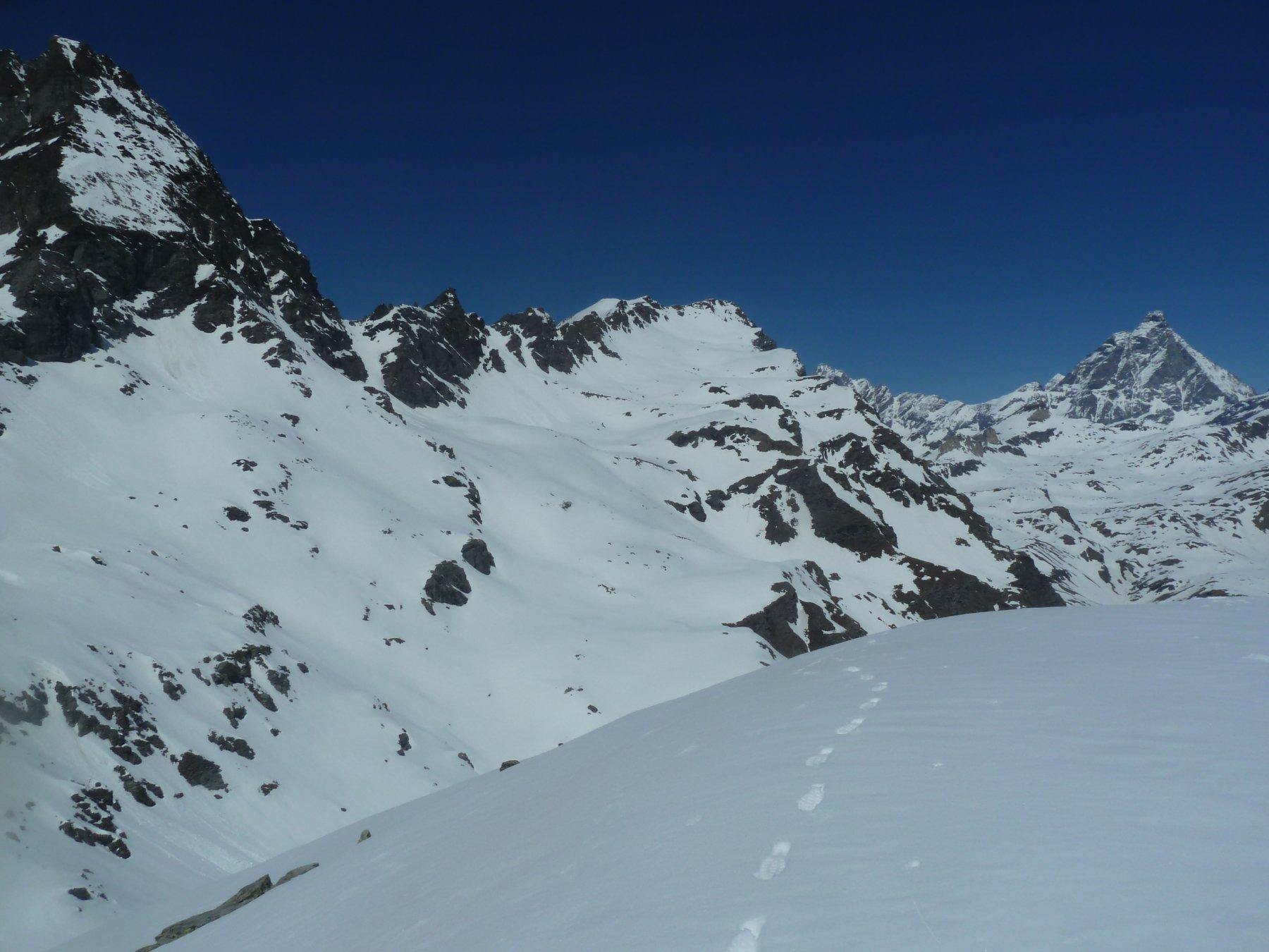 Dal Monte Croce uno sguardo alla Roisetta...