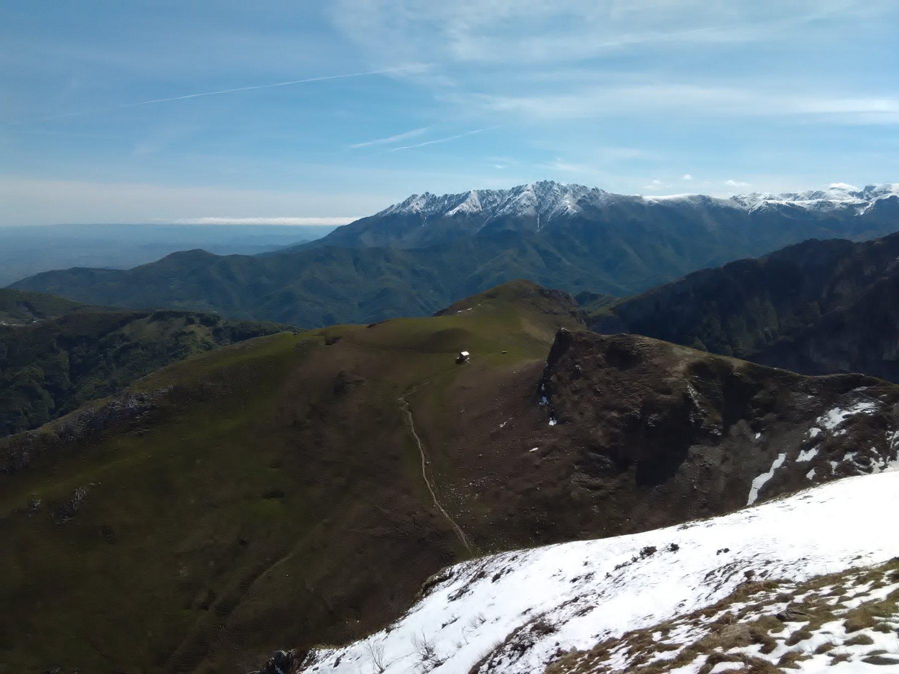 Monte e rifugio Balur