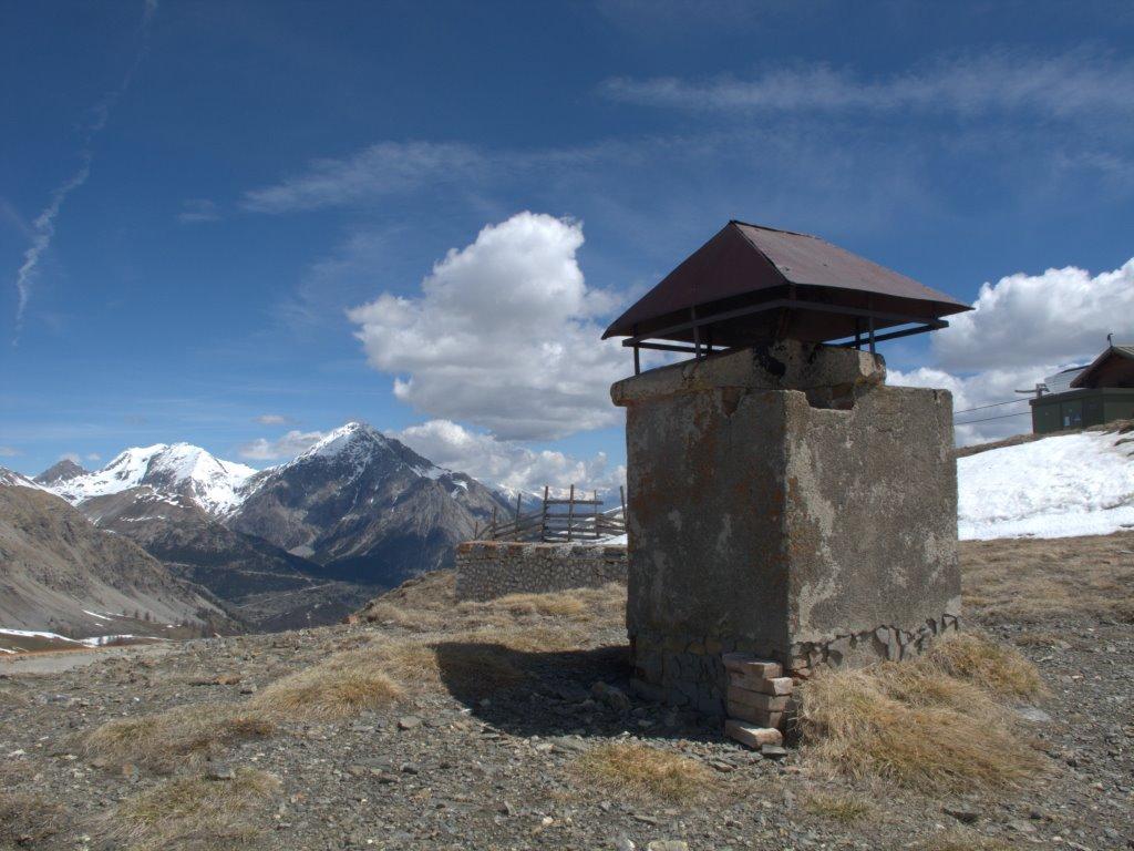 Vecchie strutture del forte...