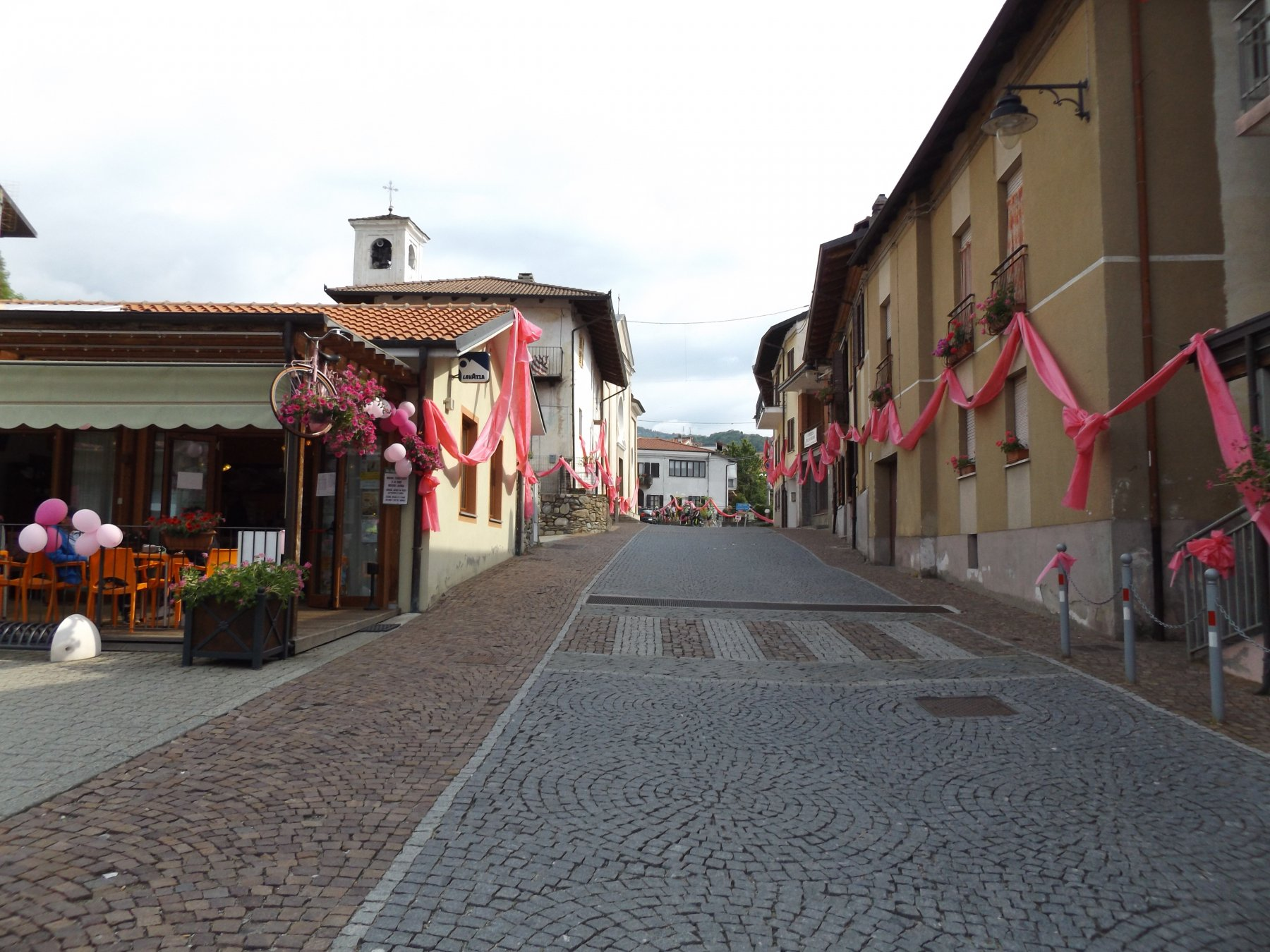 Colleretto in rosa