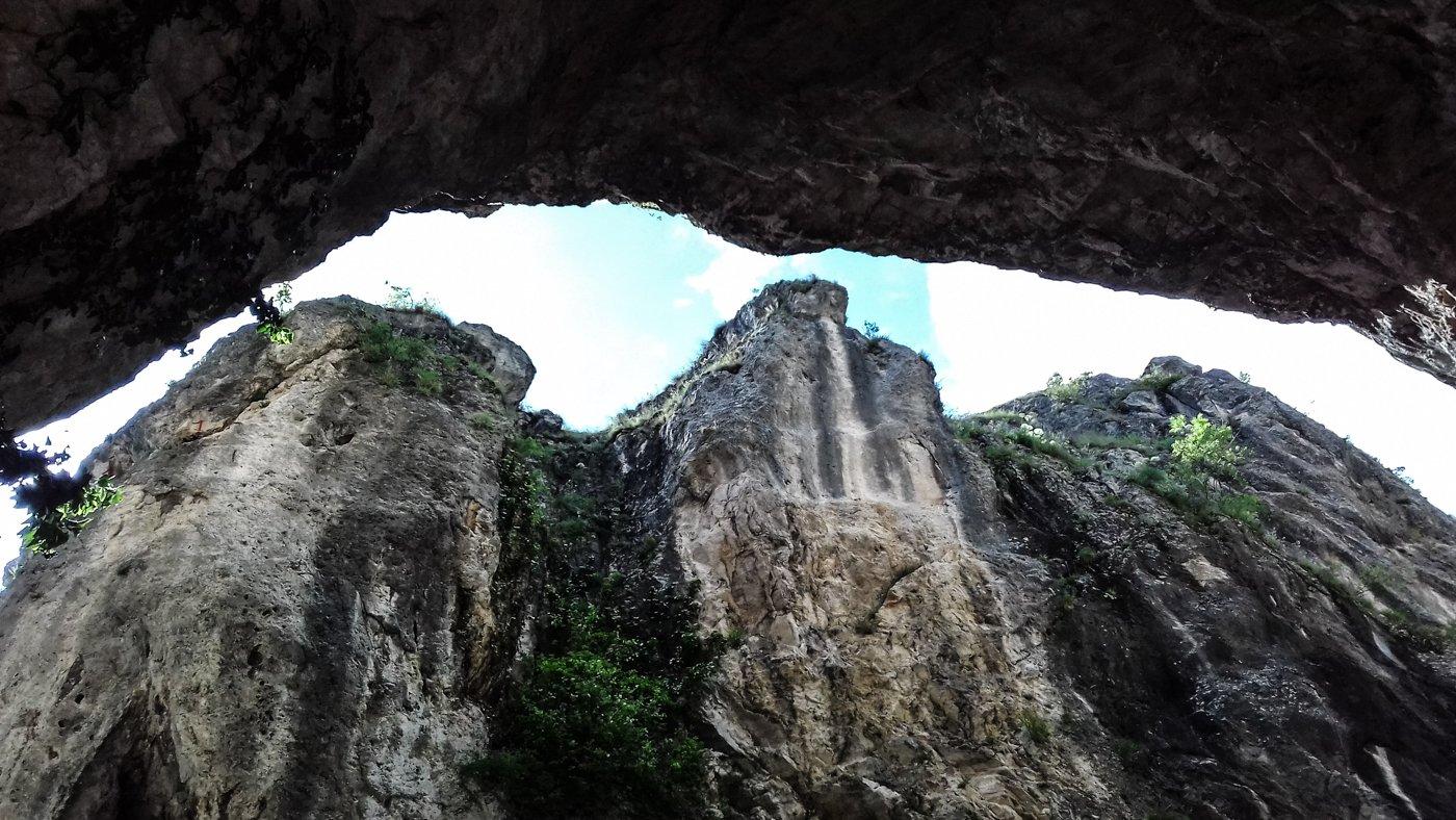 Panorama Dalla grotta