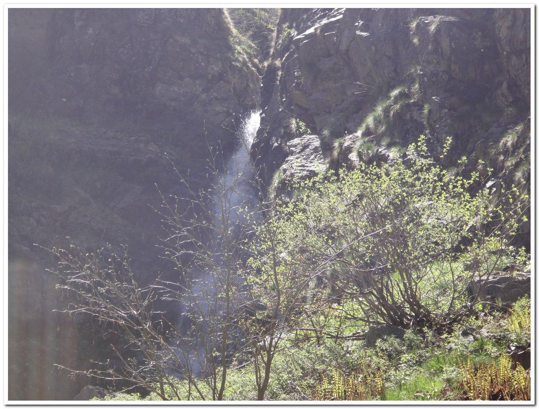 cascata nella Val Nagarone