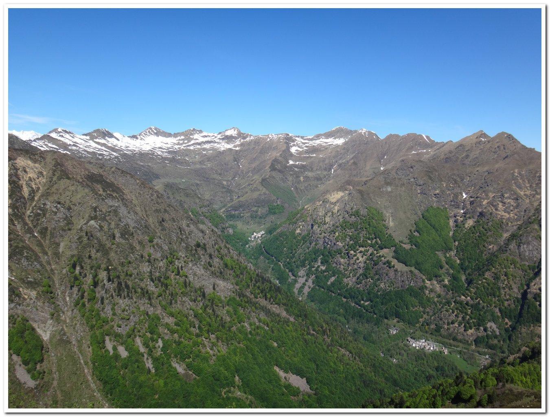 Campello Monti visto dalla cresta