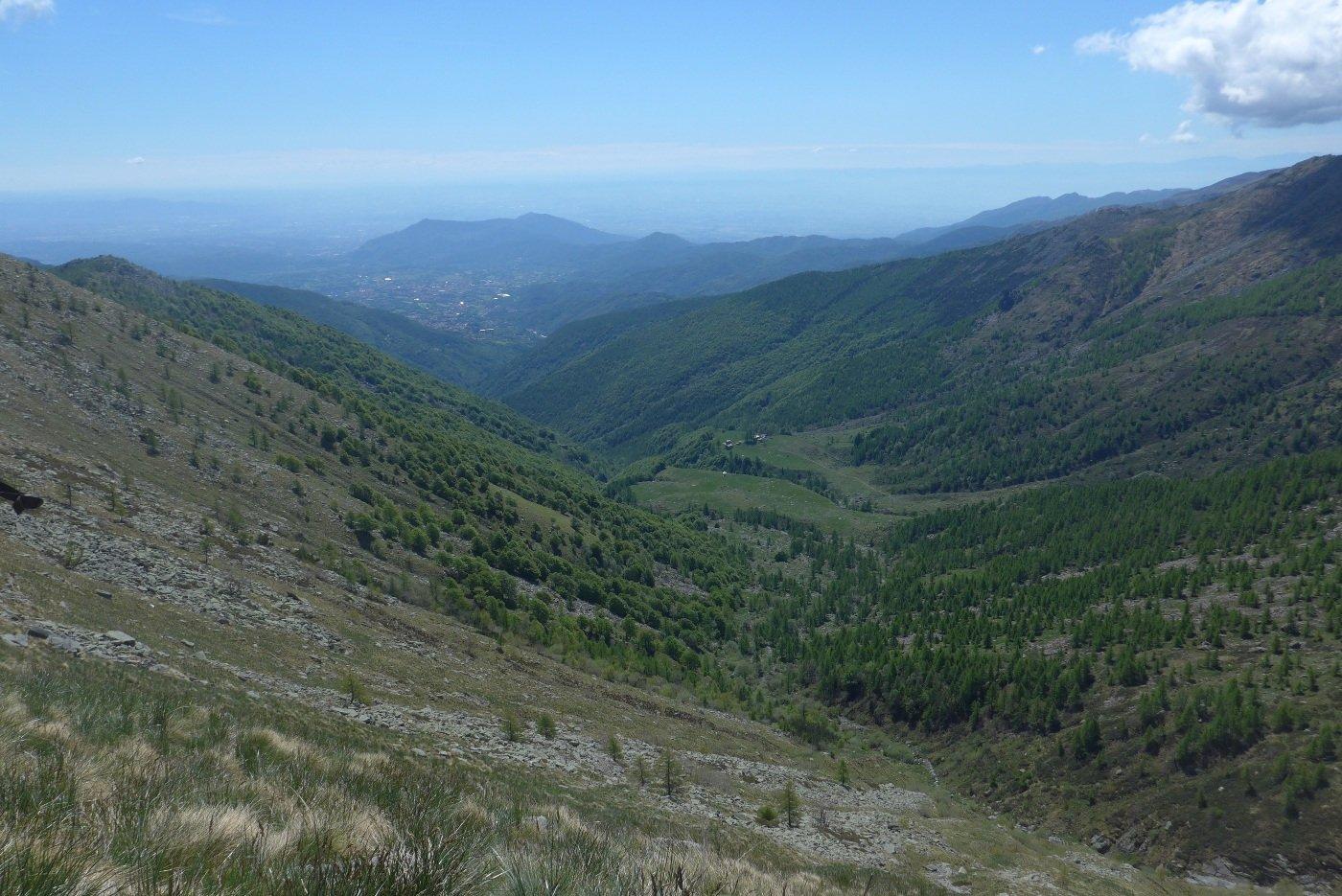 Il vallone dell'Alpe di Giaveno