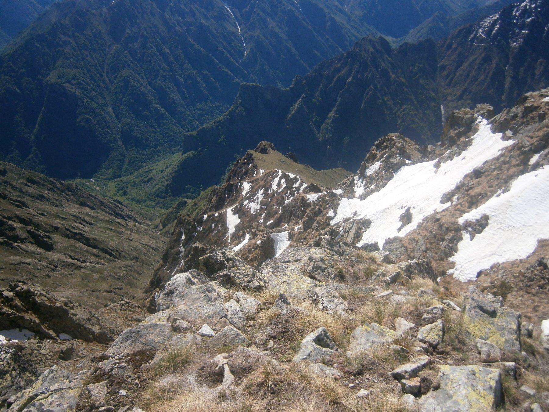 sguardo dal Limbo verso punta Chistafort