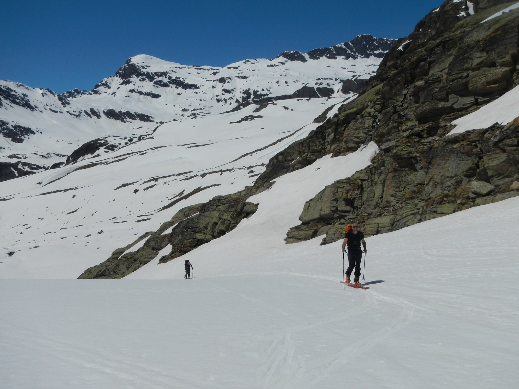 in prossimità del Refuge du Carro 2760 m.