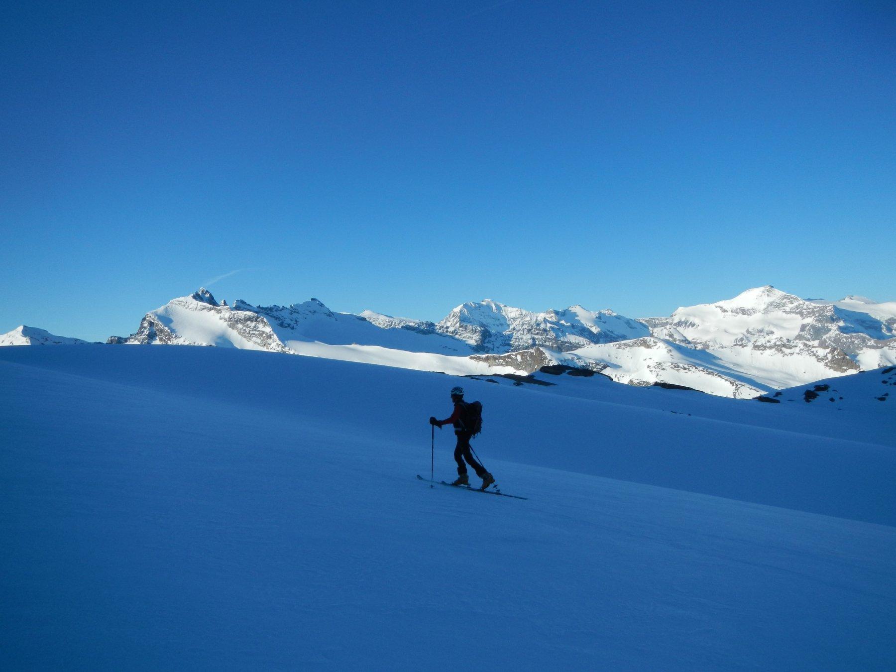 verso il Glacier de Derrière les Lacs