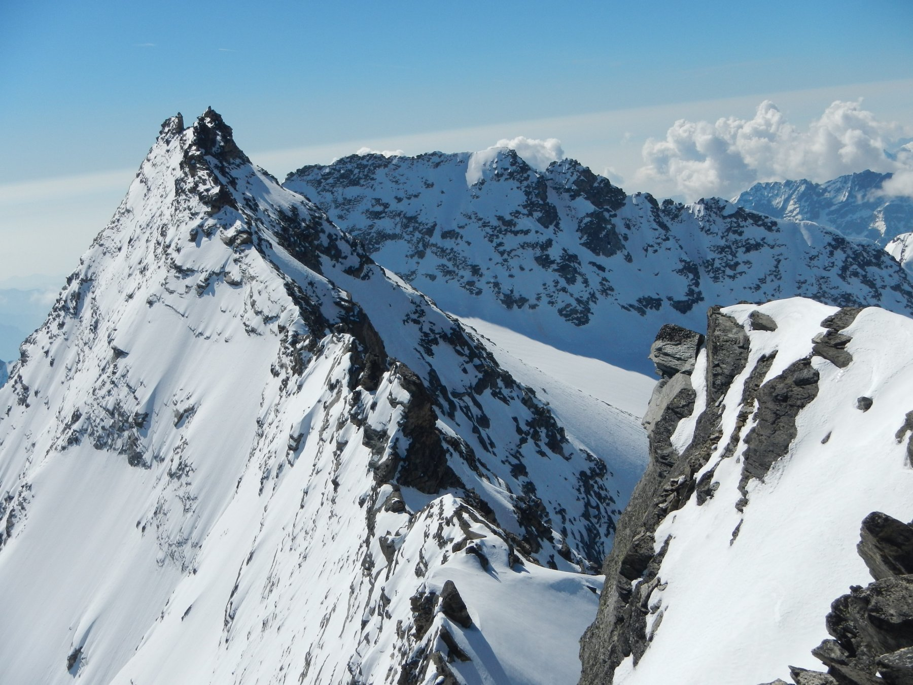 La Levanna Centrale 3619 m.