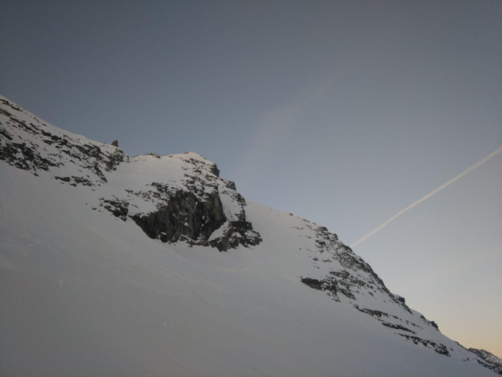 parete dal deposito sci