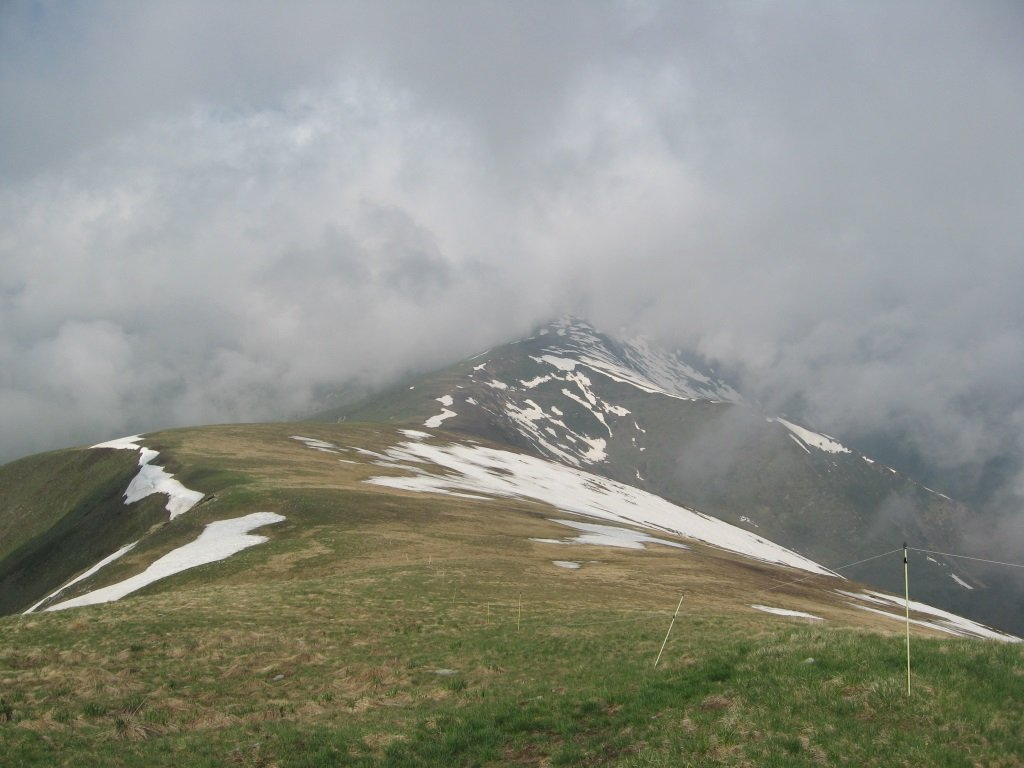 Omo (Punta) e Monte Borel da Chiotti 2019-06-05