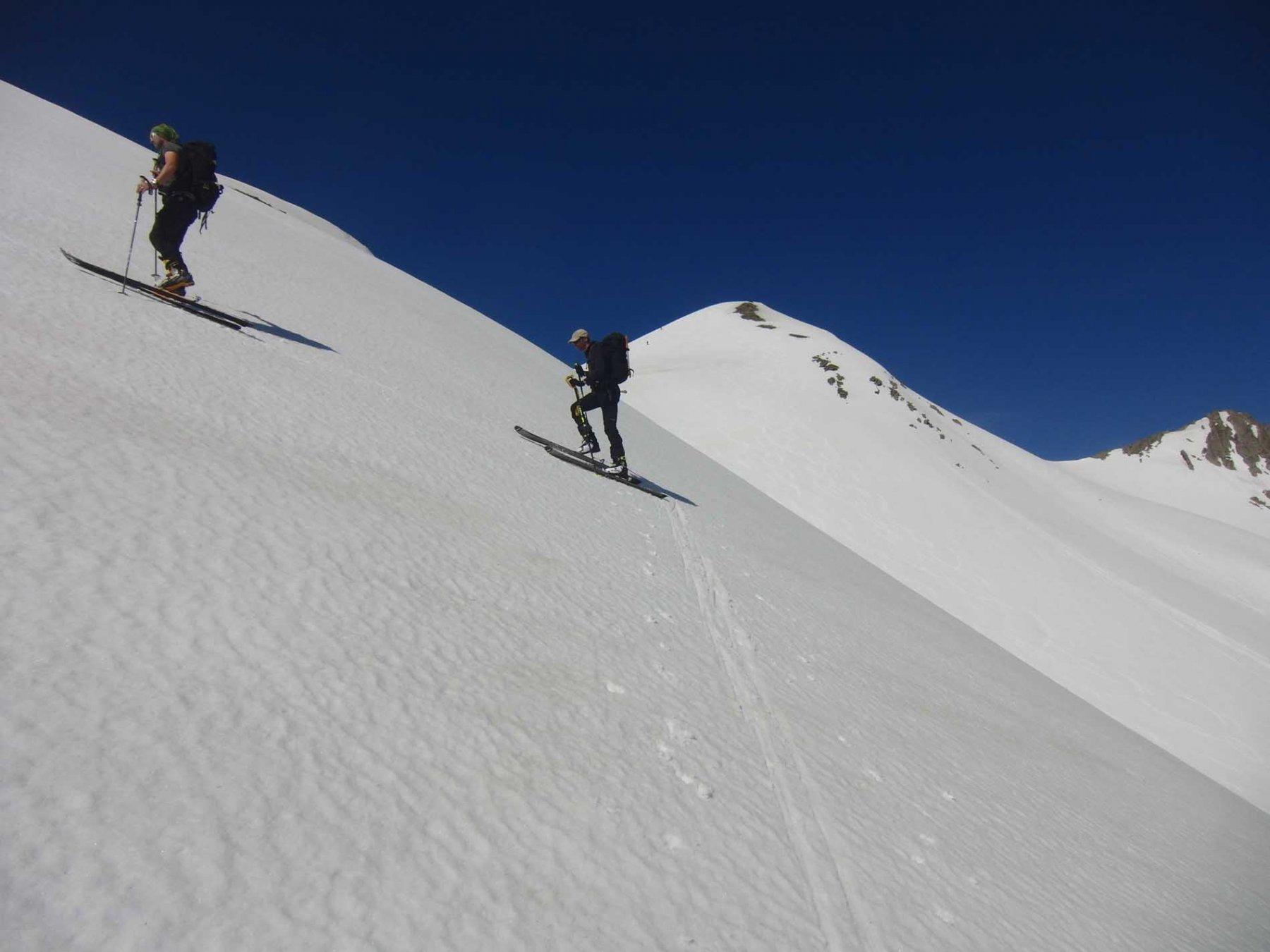 In vista del Pic Blanc