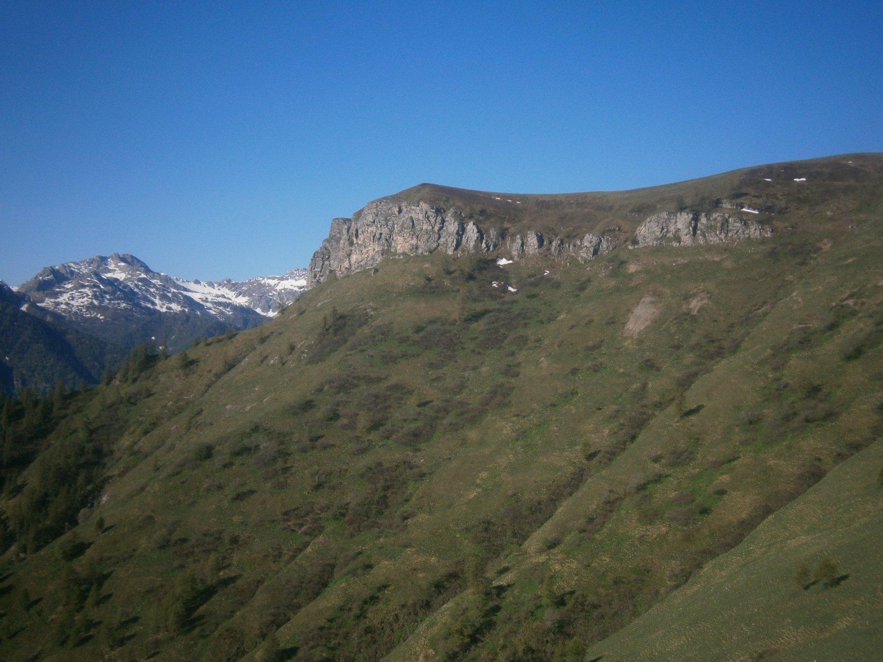 Rocca Narbena dal m. Barsi
