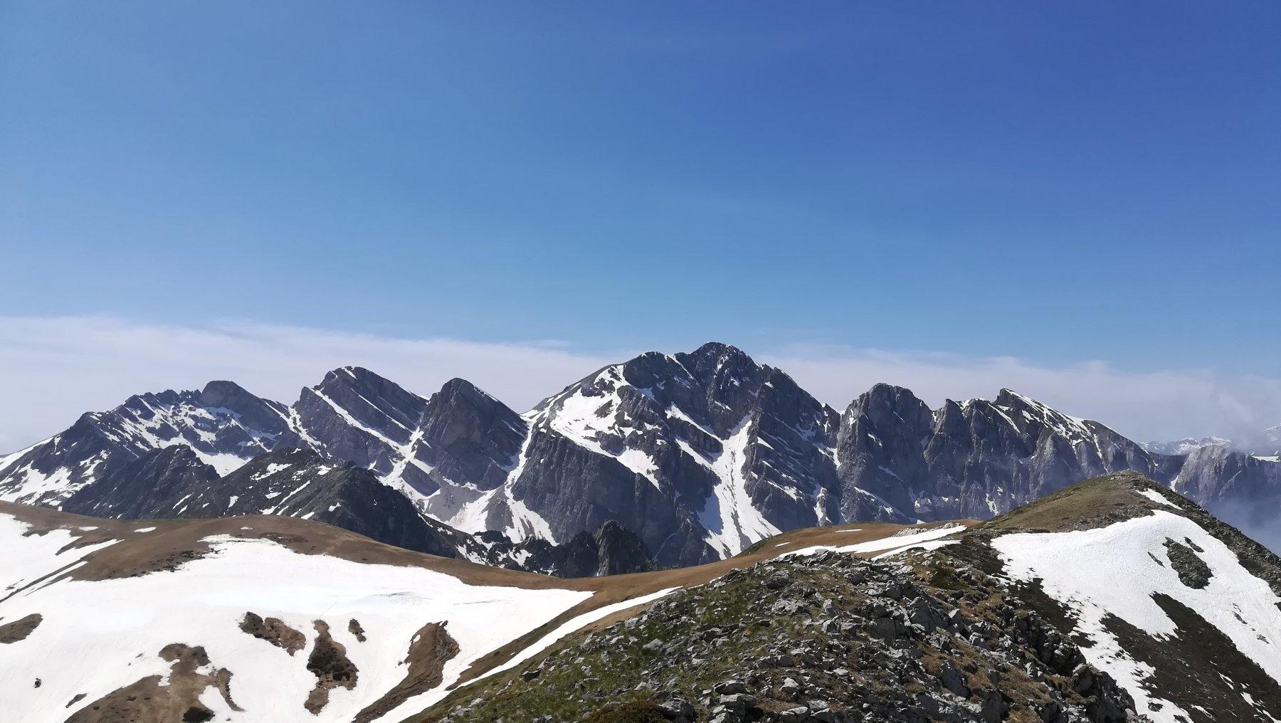 Panorama dalla nord di Serpentera