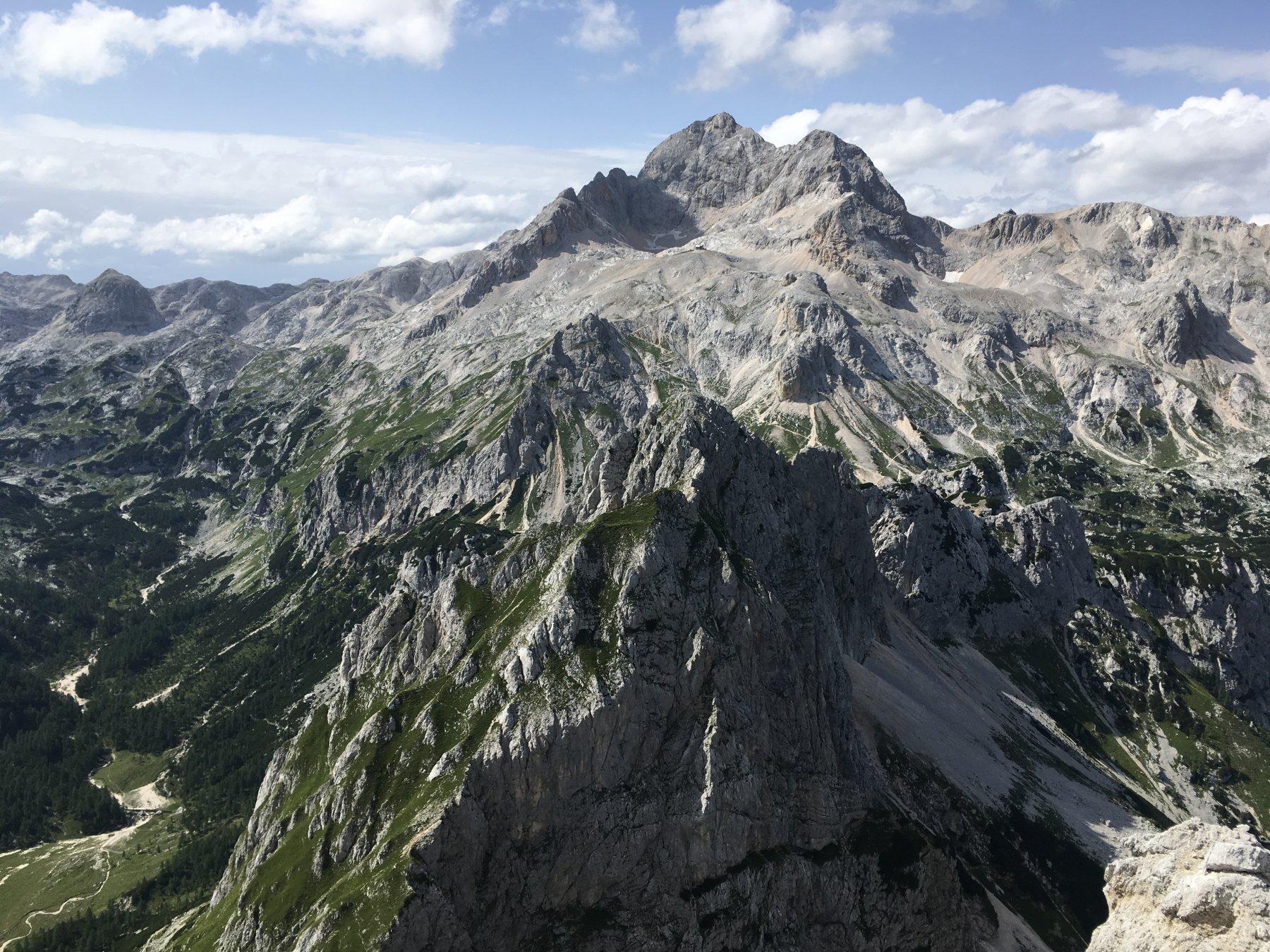 Tošc (Monte) da Planiska koca na Uskovnici 2019-06-12