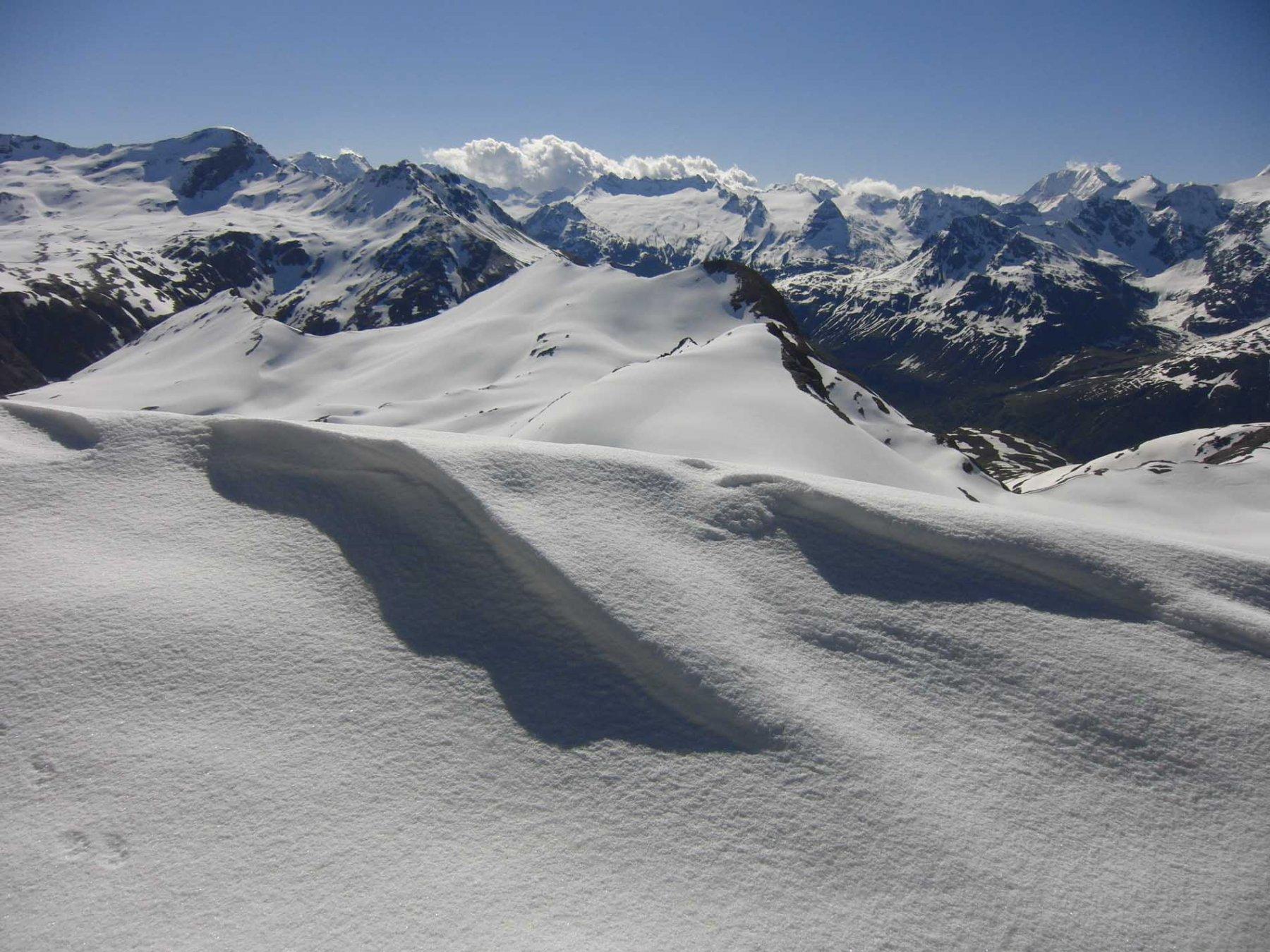 Dal Pelaou Blanc l'alta Maurienne