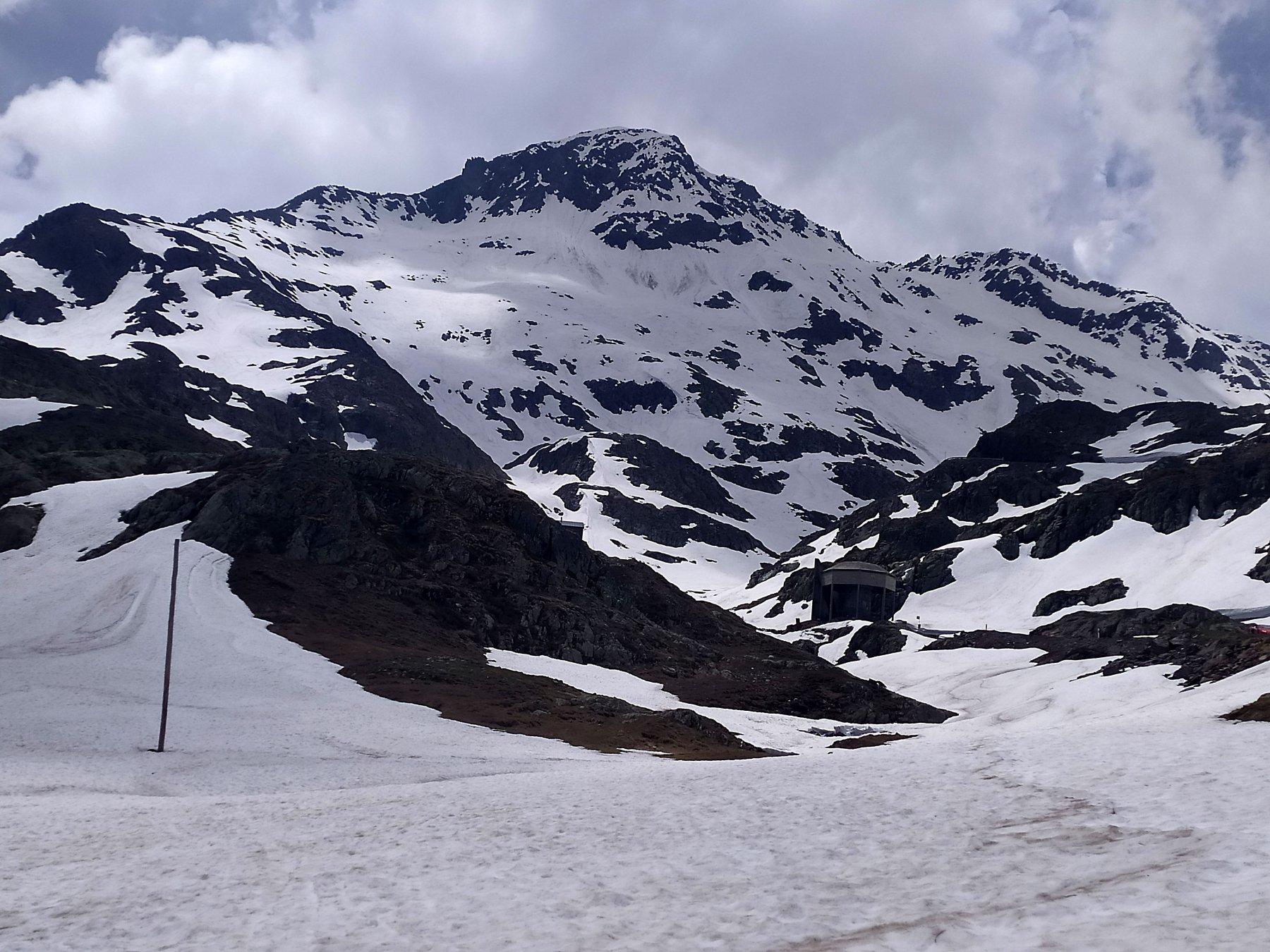 Mort (Mont) da Bourg Saint Bernard, parete Est 2019-06-15