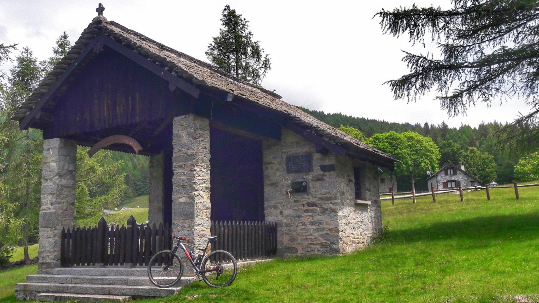 Cappella dell'alpe Pescia