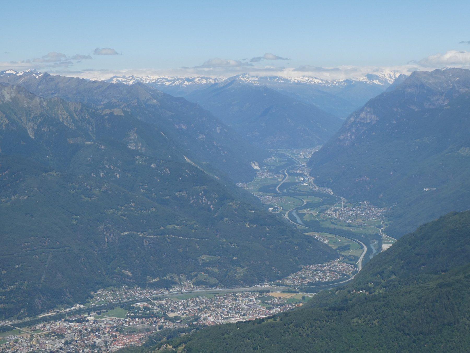 giusti giusti 2000m sopra Bellinzona