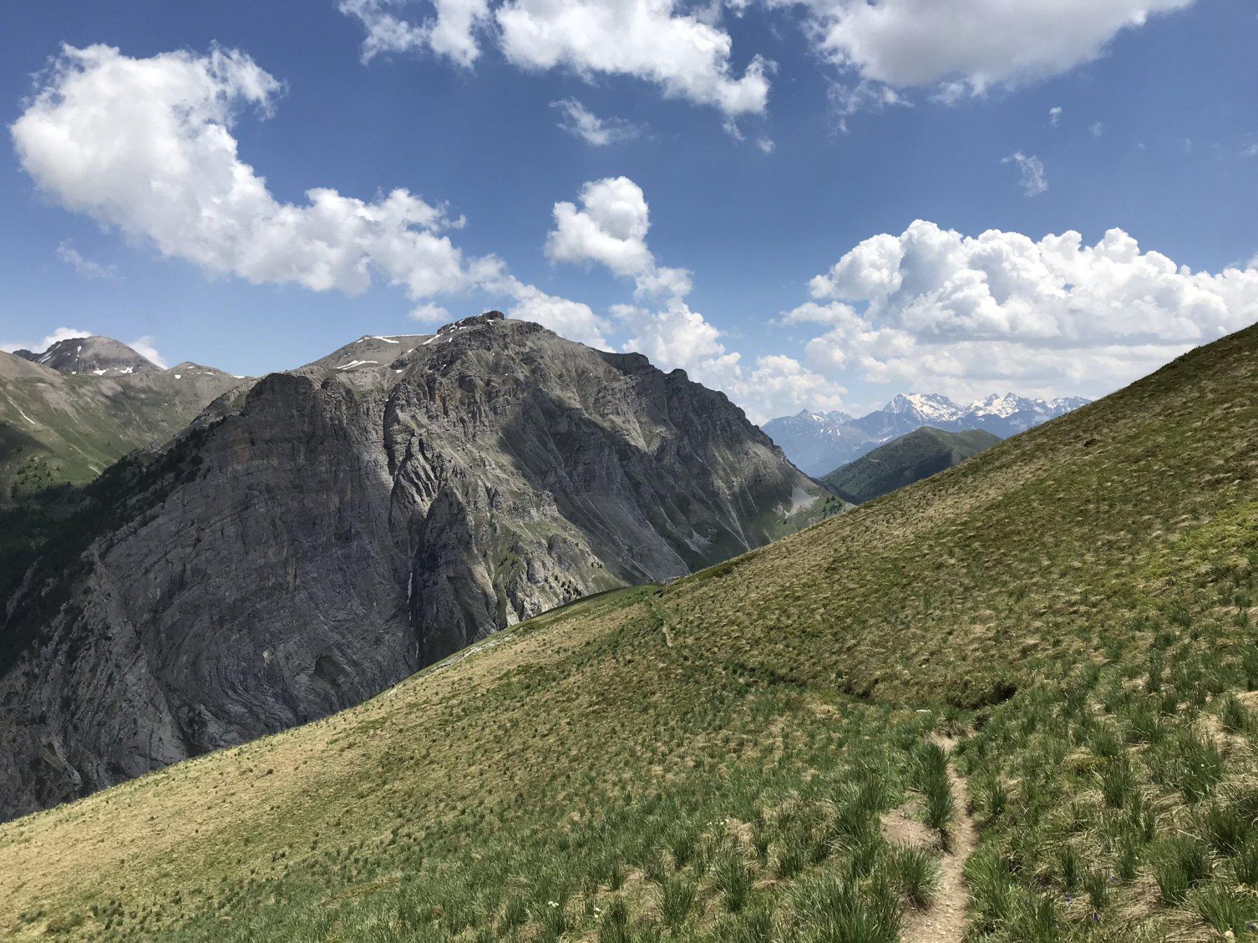 Bersaio (Monte) da Sambuco per il Vallone della Madonna, possibile anello 2019-06-19