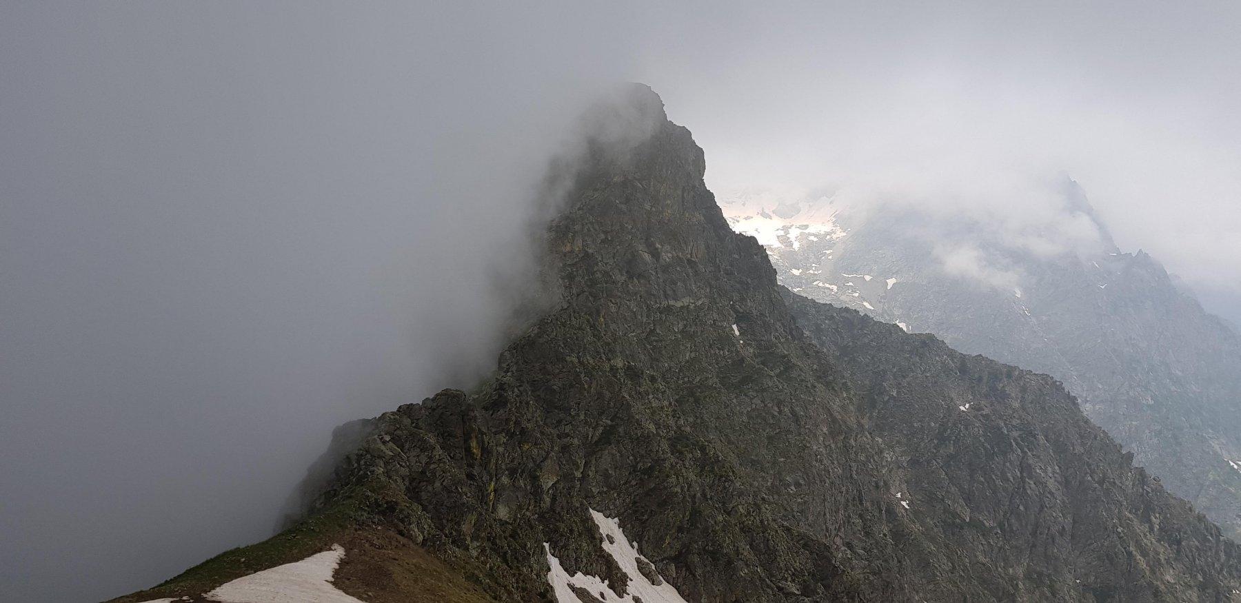 La cresta verso il M.Vagliotta