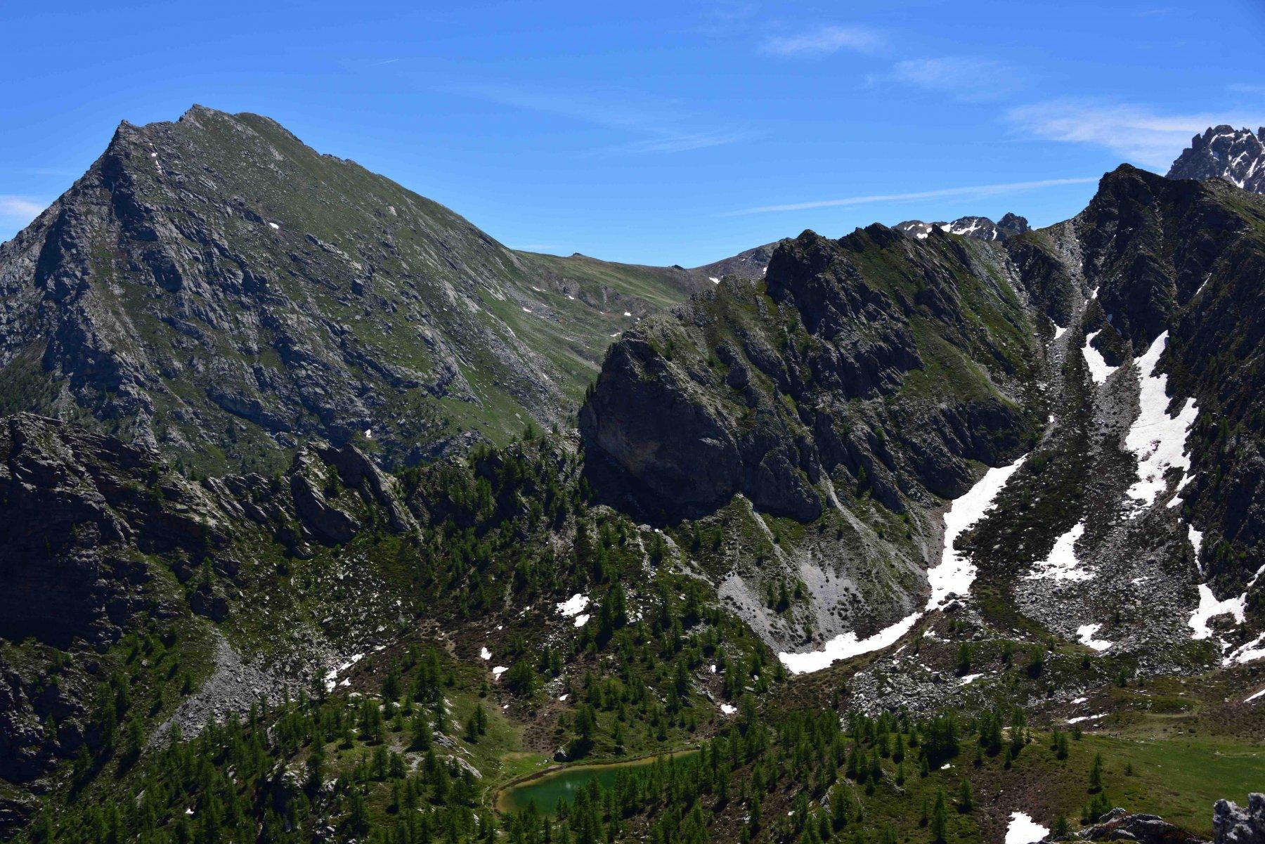 Monte La Bianca e Lago Nero dalla Q.2401