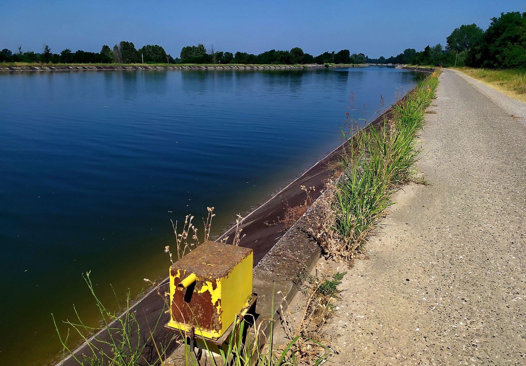 canale navigabile lato migliore