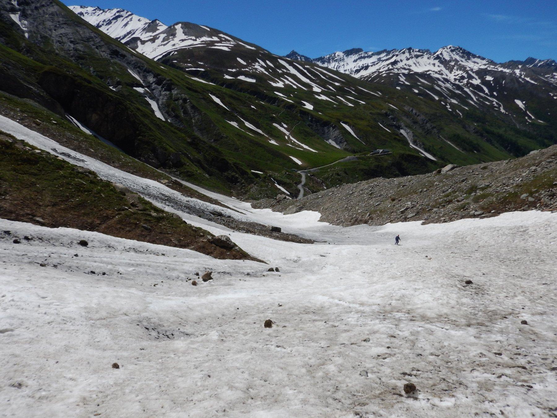 ultimi tratti di neve a 2100