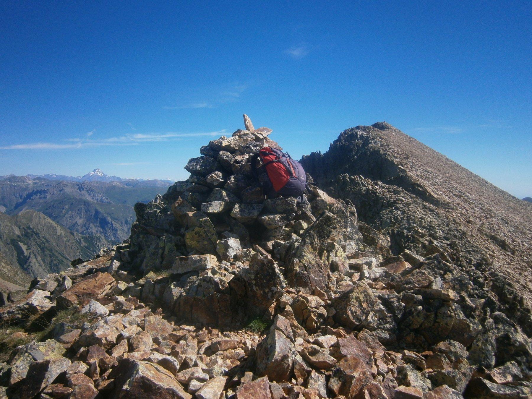 La cima dalla quota 2701