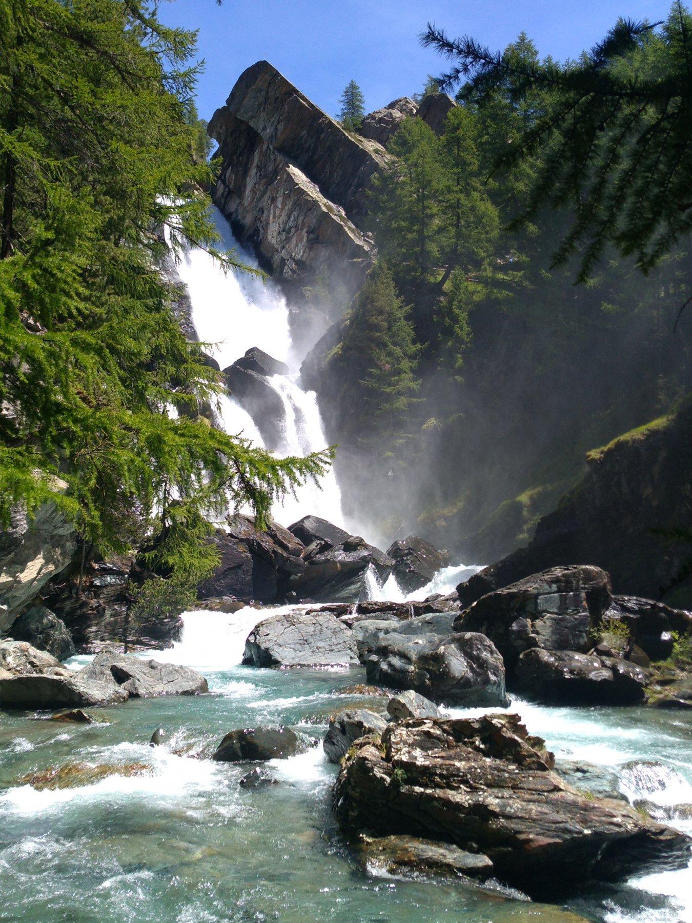 cascata alta