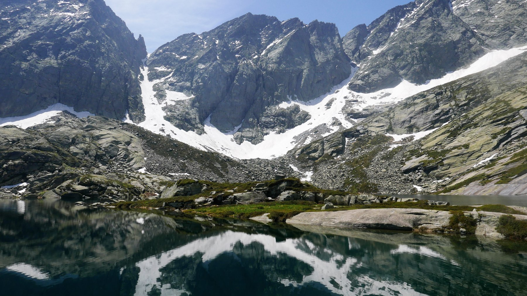 Il Lago verso le pendici del Monte Colombo