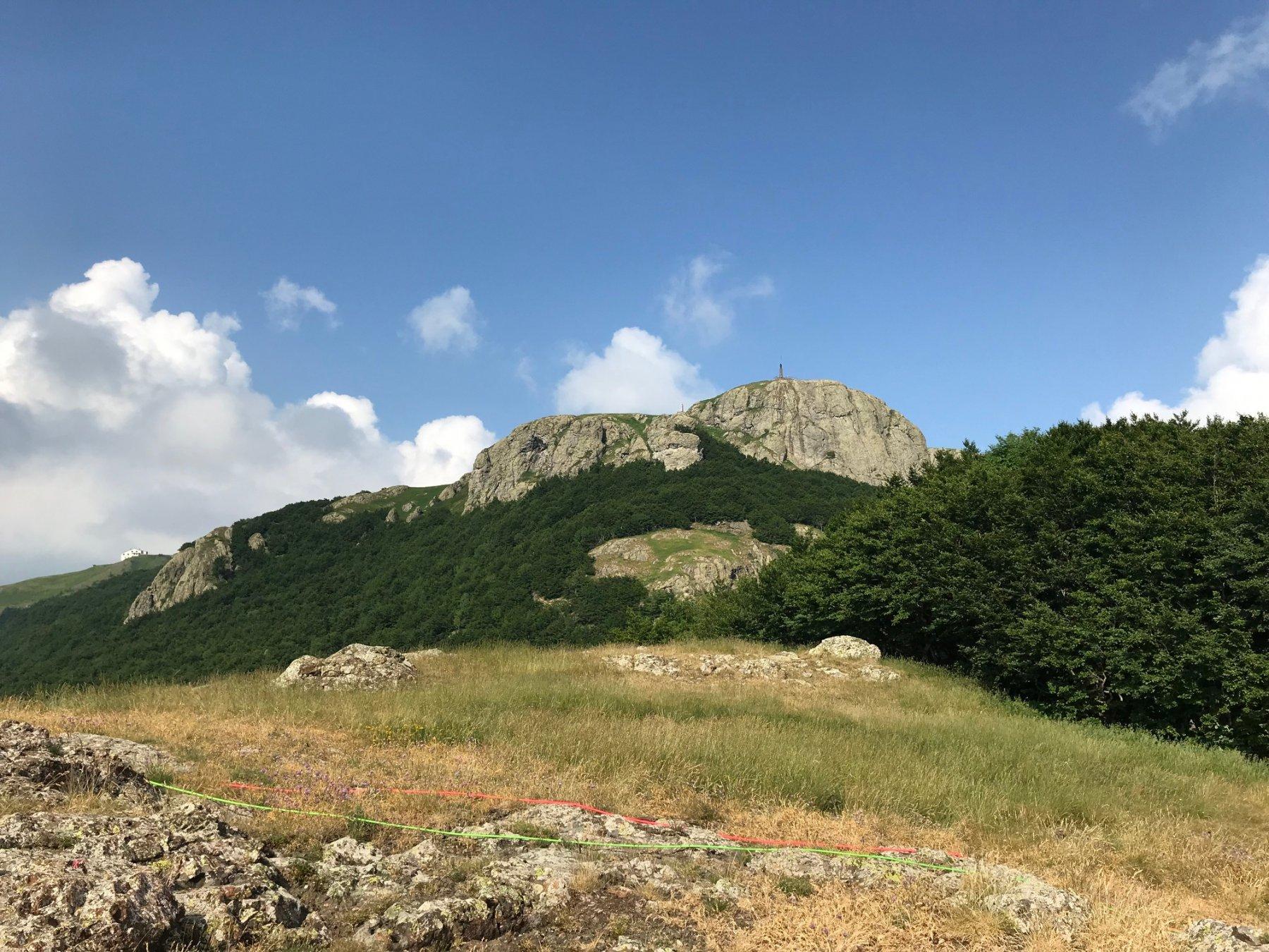 Panorama dall'arrivo - Monte Maggiorasca