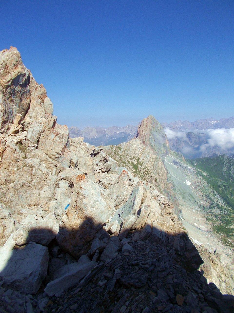 Rocca La  Meja dalla cima