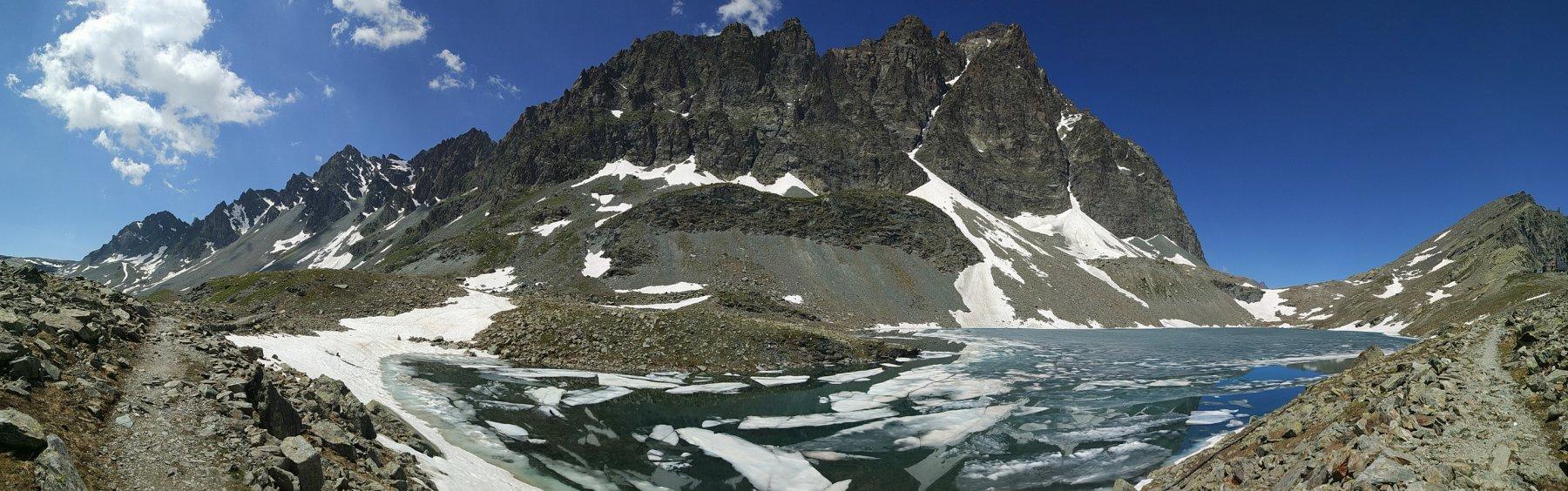 Lago Grande di Viso e Monviso