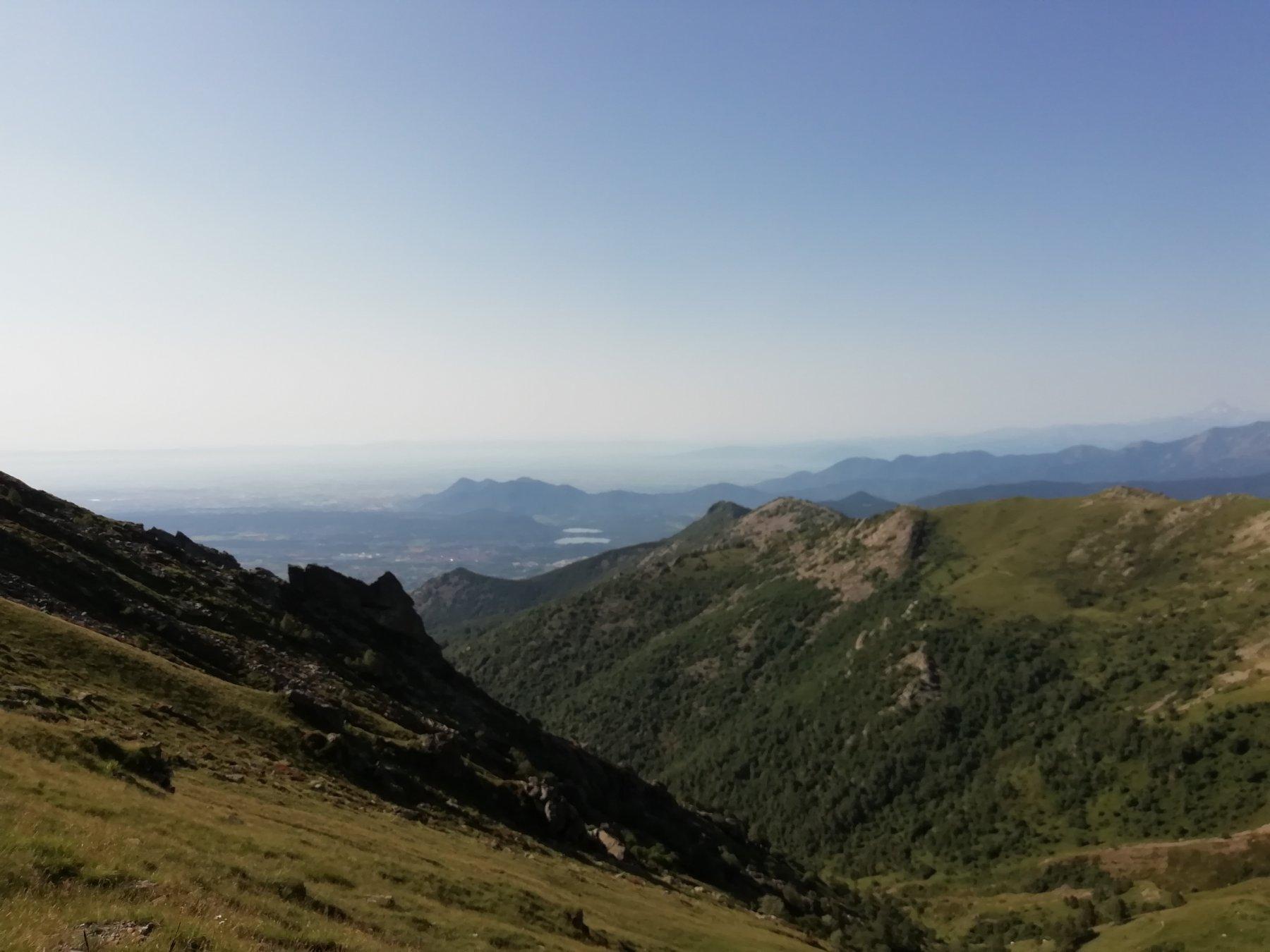vallone che scende a Suppo, salendo al colle del Monte Rognoso