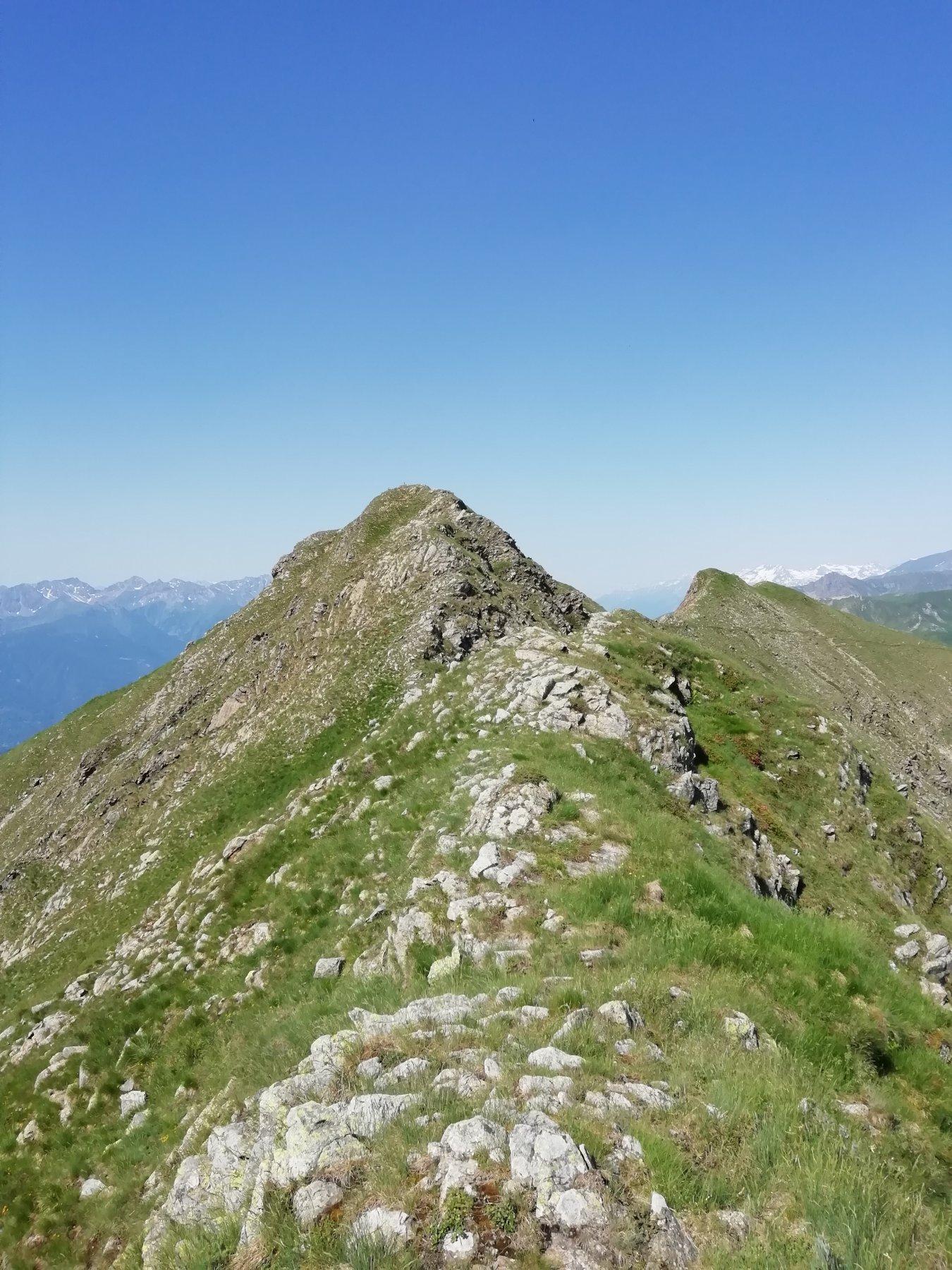 cresta verso Punta della Croce