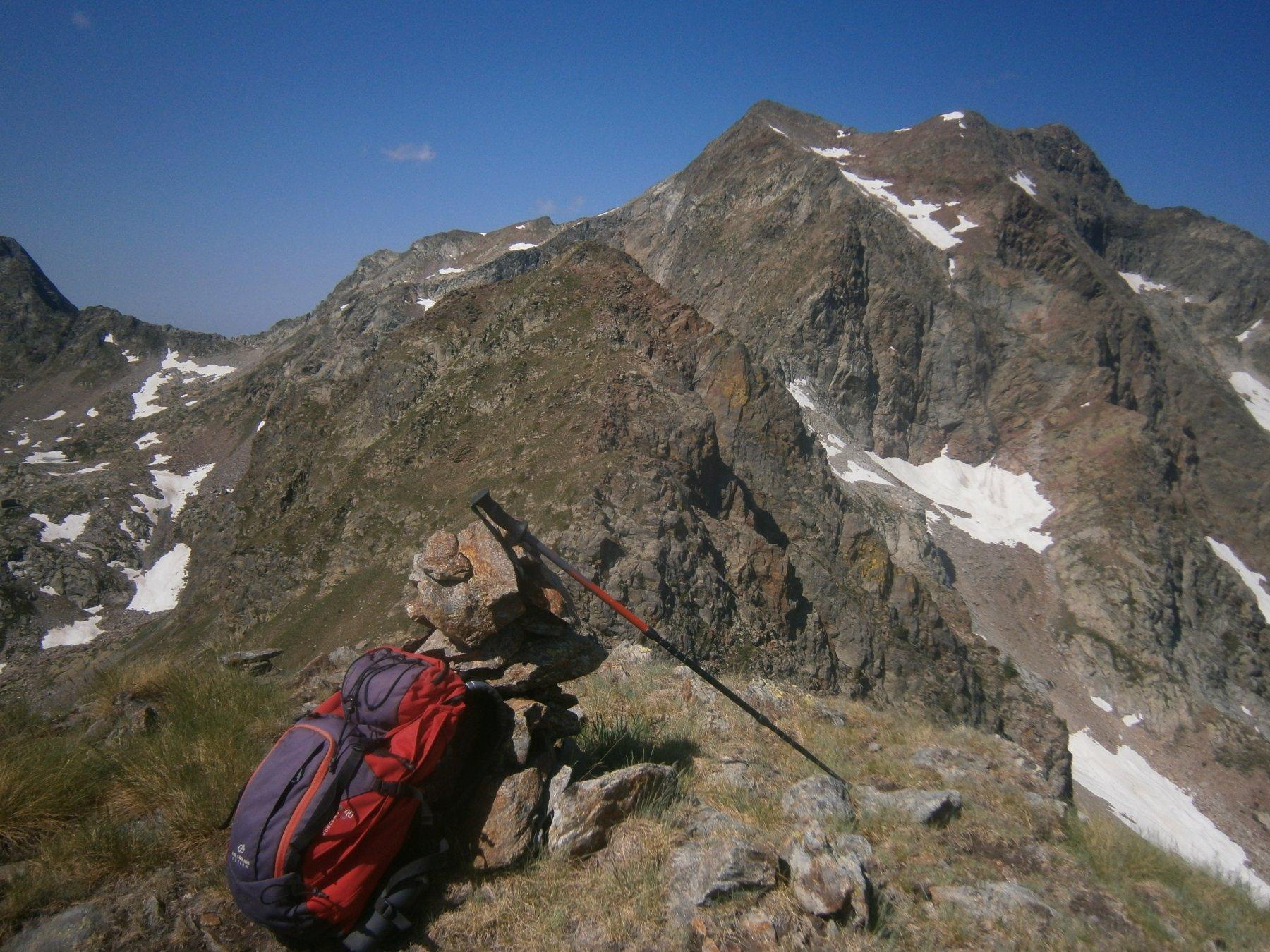 Funs e Malinvern dalla cima di Valscura